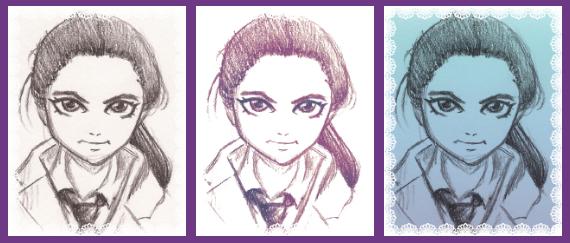manga sleutelhanger portretten voorbeeld_by_EnChantalled